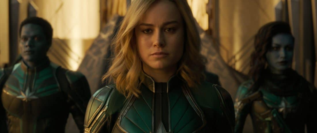 Marvel Studios Captain Marvel closeup Still. Set in the 1990s, Marvel Studios'CAPTAIN MARVELis an all-new adventure from a previously unseen period in the history of the Marvel Cinematic Universe that follows the journey of Carol Danvers as she becomes one of the universe's most powerful heroes.