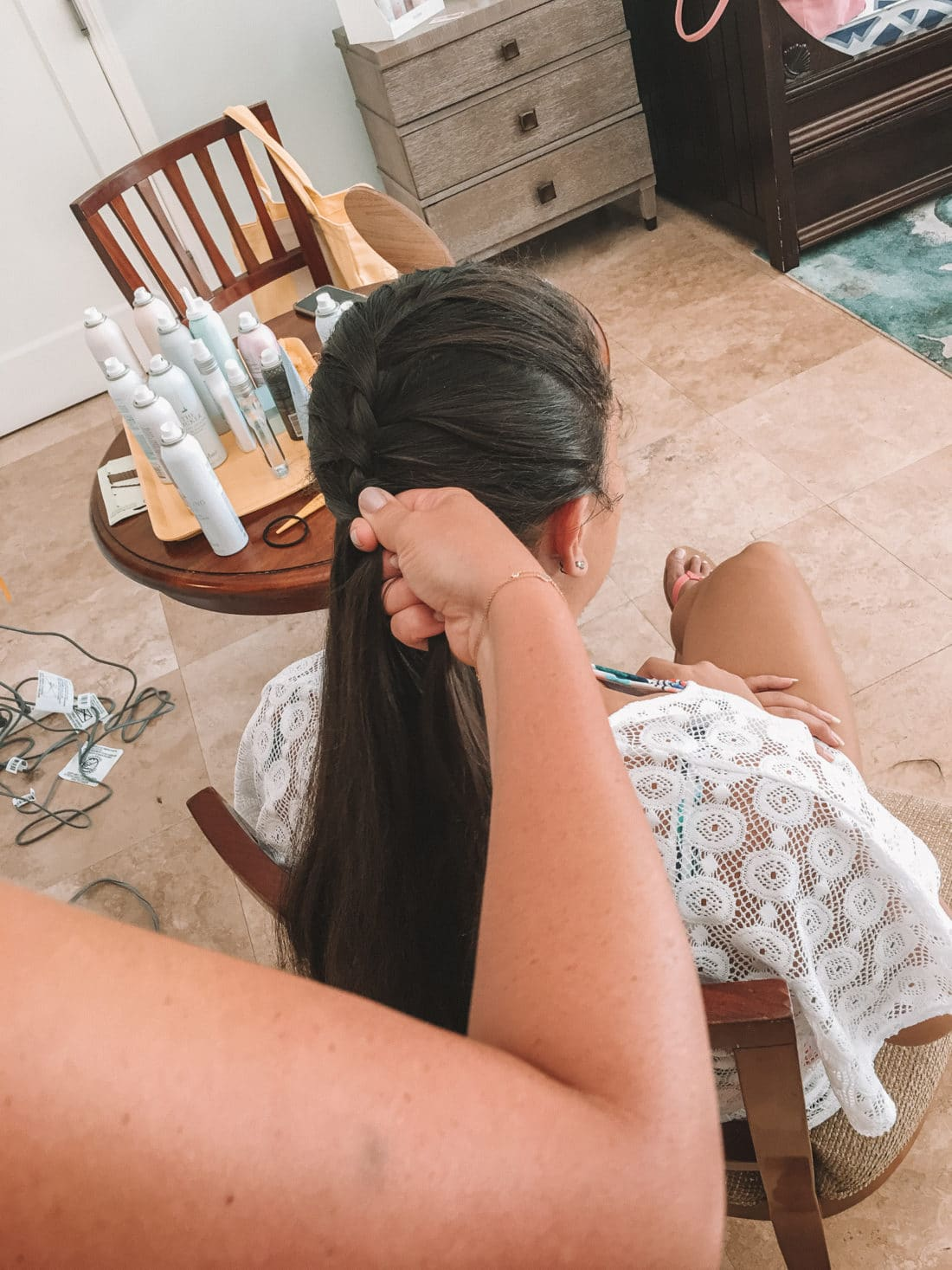 Jay Mermaid Hair Drybar Experience. My first time experiencing Drybar at Beaches Resorts in Turks and Caicos rocking a Mermaid Braid. Plus an Exclusive Interview with Alli Webb.