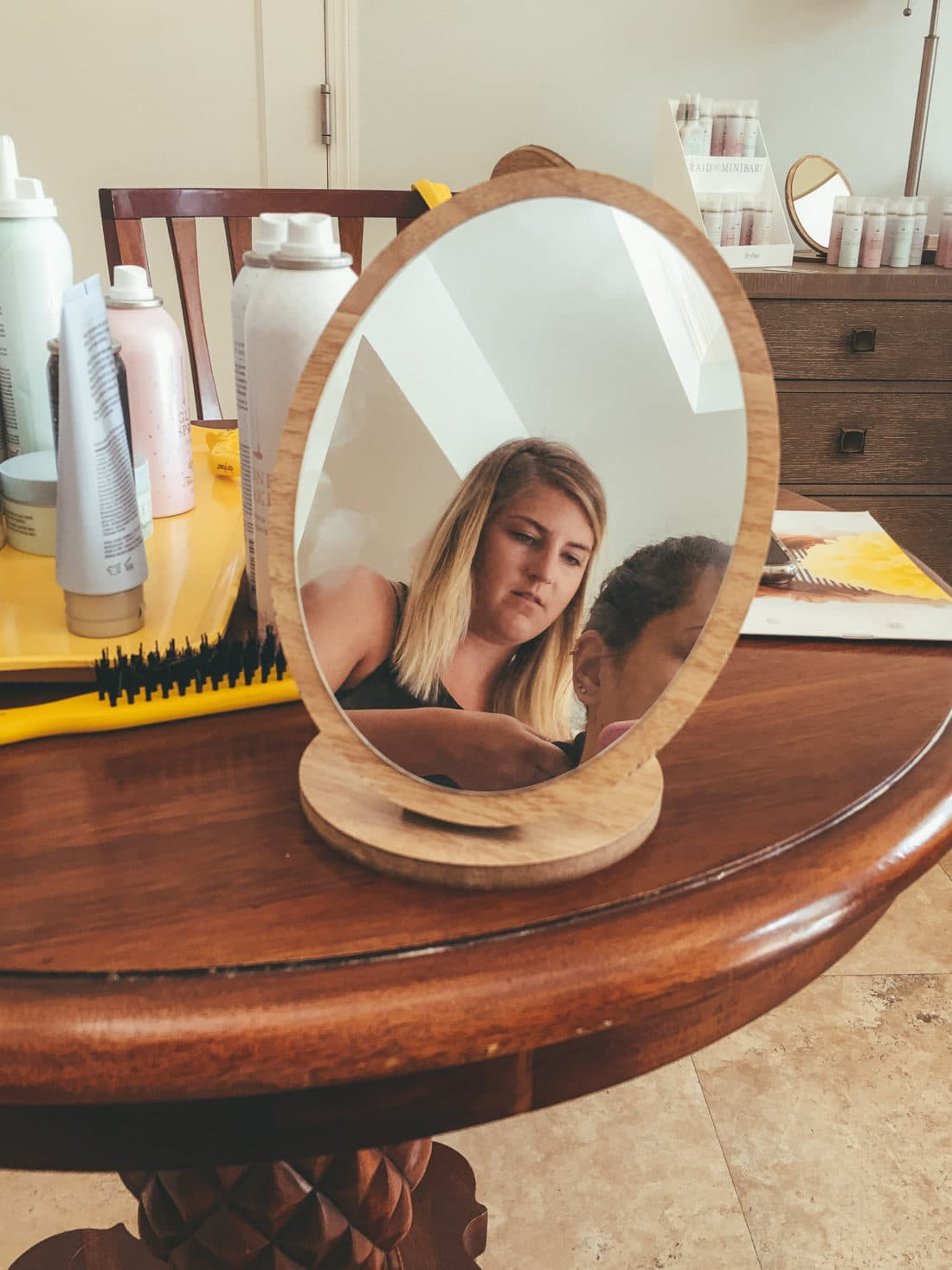 Mirror Mermaid Hair Drybar Experience. My first time experiencing Drybar at Beaches Resorts in Turks and Caicos rocking a Mermaid Braid. Plus an Exclusive Interview with Alli Webb.