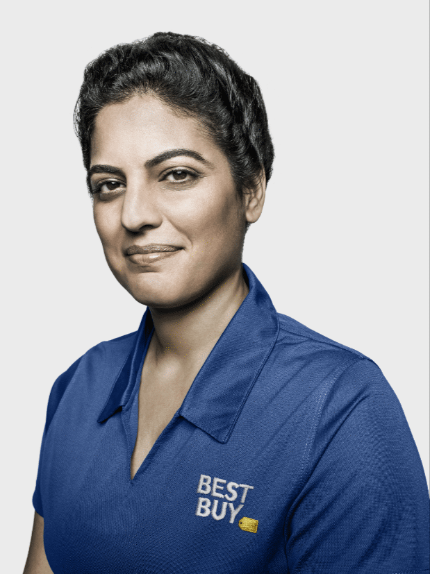 Blue Shirt Best Buy Open House Event Woman. Best Buy is hosting a one day only Open House Event that you don't want to miss. Mark your calendars for Jan. 19 for exclusive in-store deals and sweepstakes.