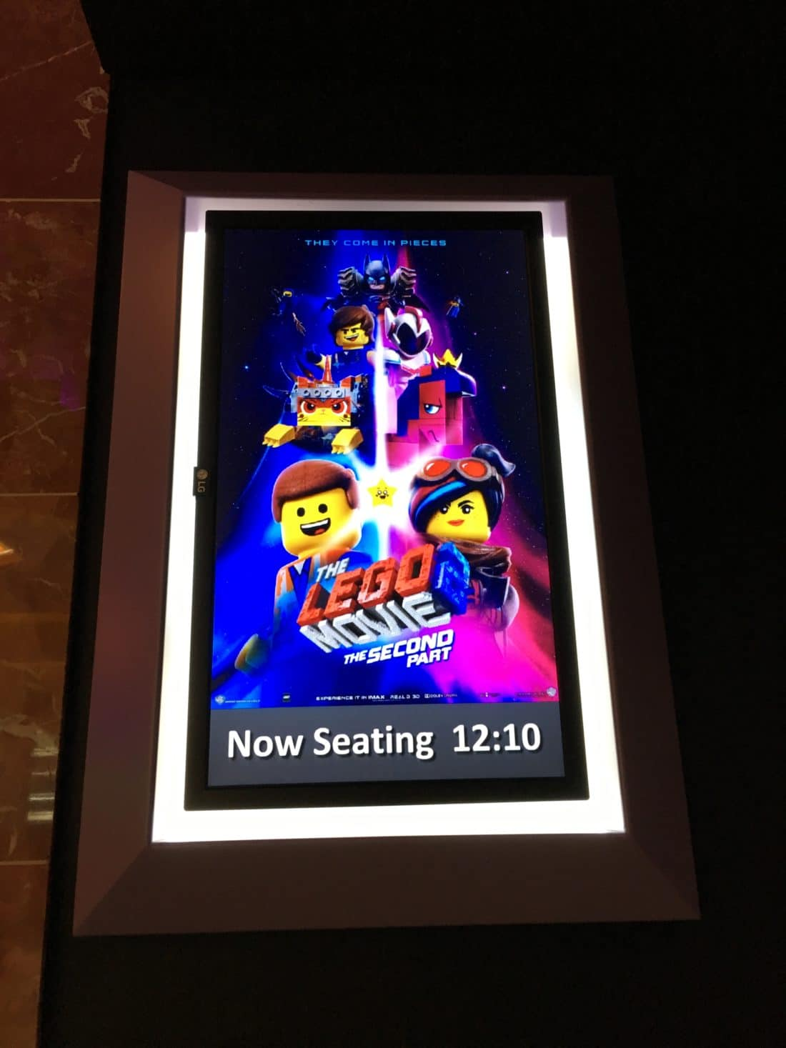 The LEGO 2 Movie: The 2nd Part Movie Poster 4dx. Read about why everything is awesome with the new Regal Cinema 4DX Expierence for The LEGO Movie 2: The 2nd Part. Full review with photos.