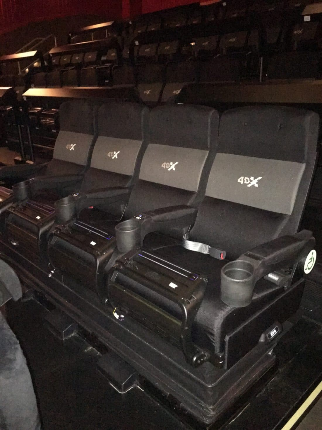 Regal CInema 4dx Seats. Read about why everything is awesome with the new Regal Cinema 4DX Expierence for The LEGO Movie 2: The 2nd Part. Full review with photos.