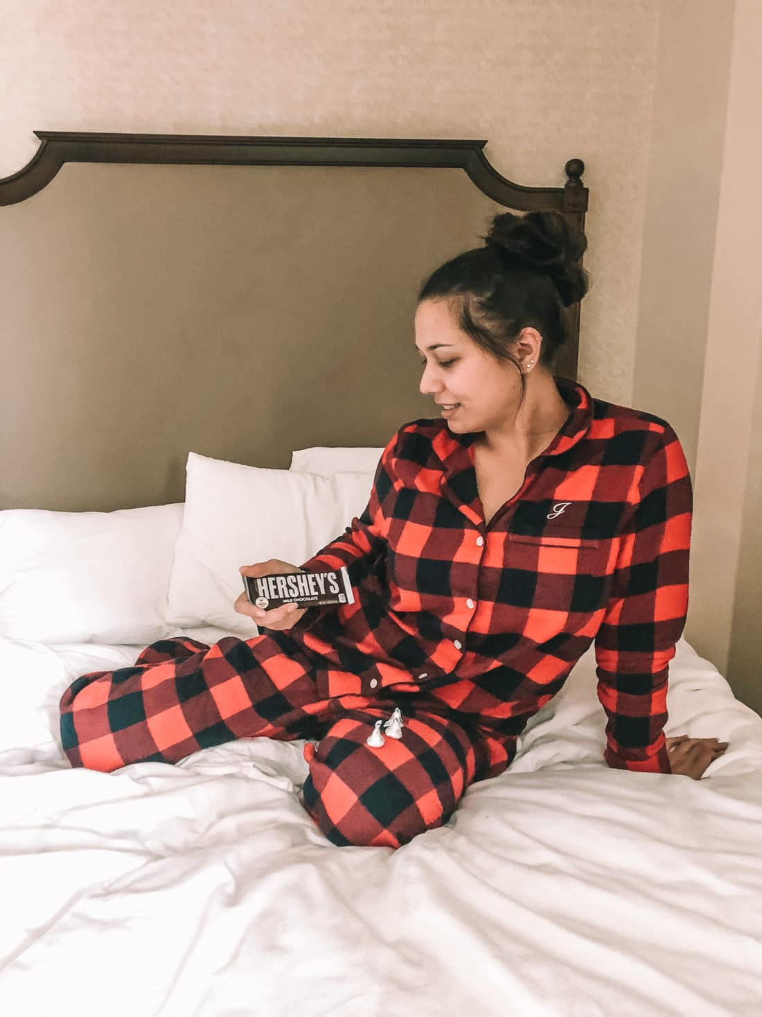 Jay Hershey Hotel PJ's. The Hotel Hershey is a luxury hotel located in Hershey, PA. The Double Queen room offers a luxry stay for up to 4 people.