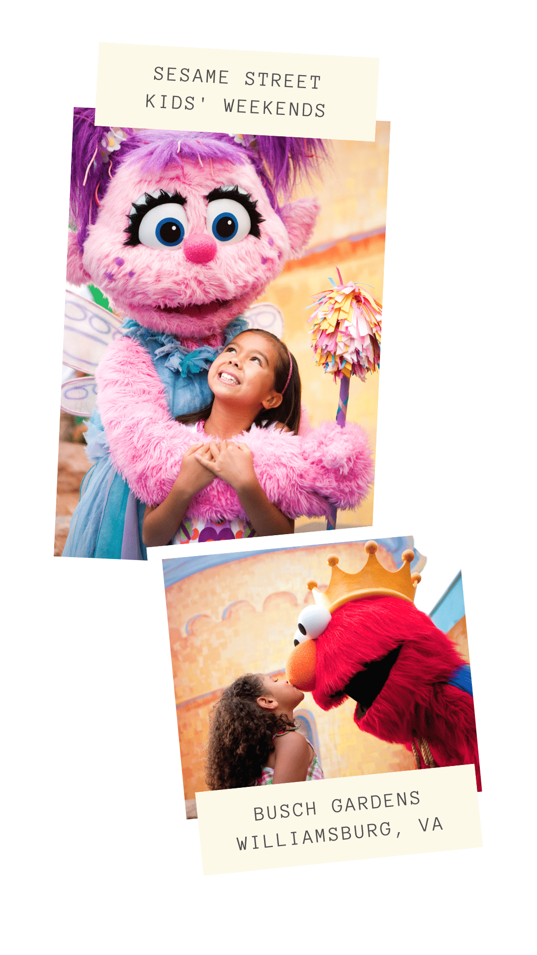 It's time to party with all of your Sesame Street friends at Busch Gardens Williamsburg, VA. All of your Sesame Street friends are throwing a party every weekending in April. With Exclusive family activities, dance parties and so much more, you won't want to miss it. View the full 2019 Schedule on my blog for more details.