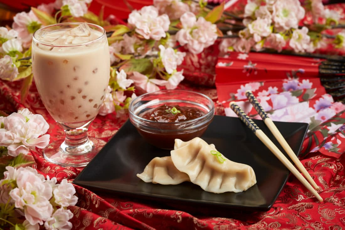 Busch Gardens Food and Wine Festival Japan Gyoza & Bubble Tea. Busch Gardens 7th Annual Food & Wine Festival kicks off May 17th. Every Friday, Saturday and Sunday from May 17-June 30 guests can enjoy food from and drinks from around the world.