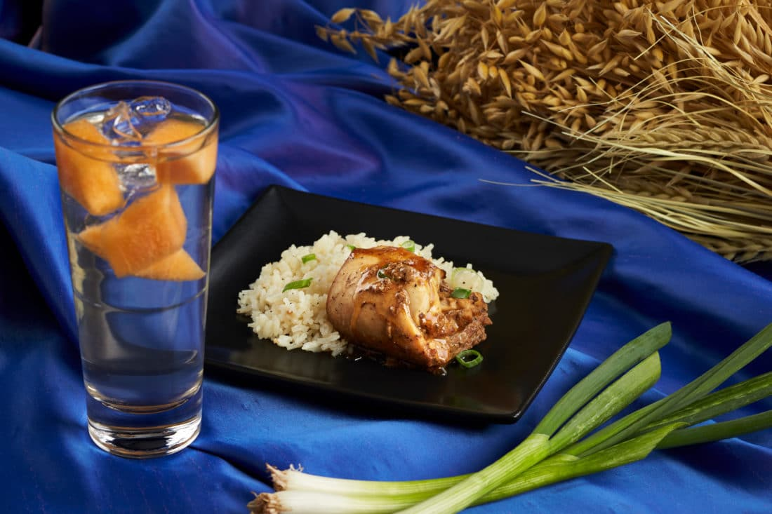 Busch Gardens Food and Wine Festival Philippines Chicken Adobo & Melon Juice. Busch Gardens 7th Annual Food & Wine Festival kicks off May 17th. Every Friday, Saturday and Sunday from May 17-June 30 guests can enjoy food from and drinks from around the world.