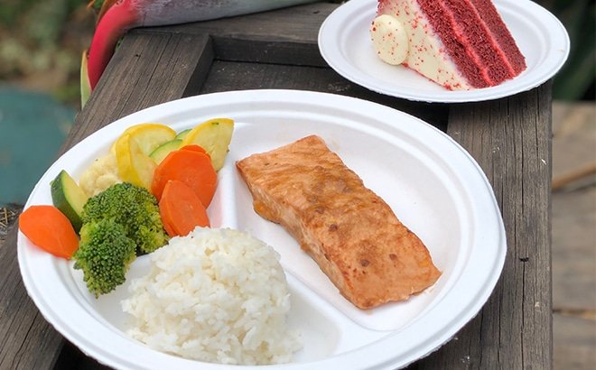 Single Use Polystyrene Feature. SeaWorld Parks & Entertainment™ is replacing polystyrene foam with products made from 100 percent recycled material in all 12 of its parks, including Busch Gardens and Water Country USA.