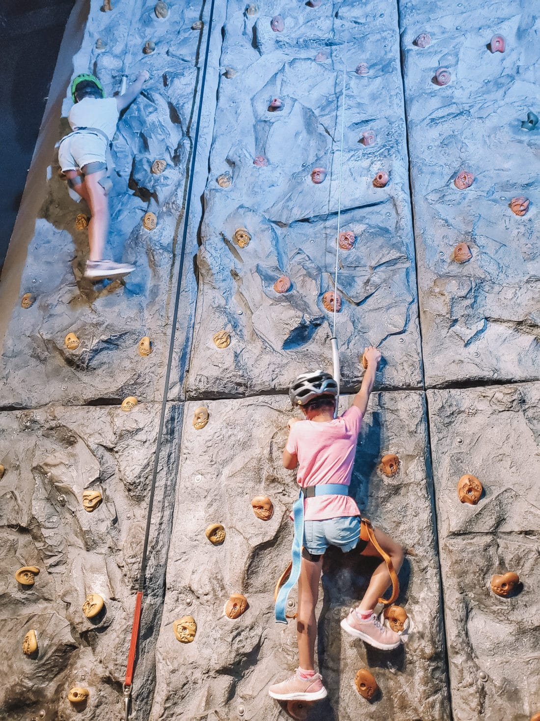 "WonderWorks Rock Climbing. One of the top things to do in Pigeon Forge, WonderWorks Indoor Amusement park, is one of the best Pigeon Forge Attractions. With over 35,000 square feet of ""edu-tainment,"" WonderWorks is an amusement park for the mind. Read our full review on the blog."