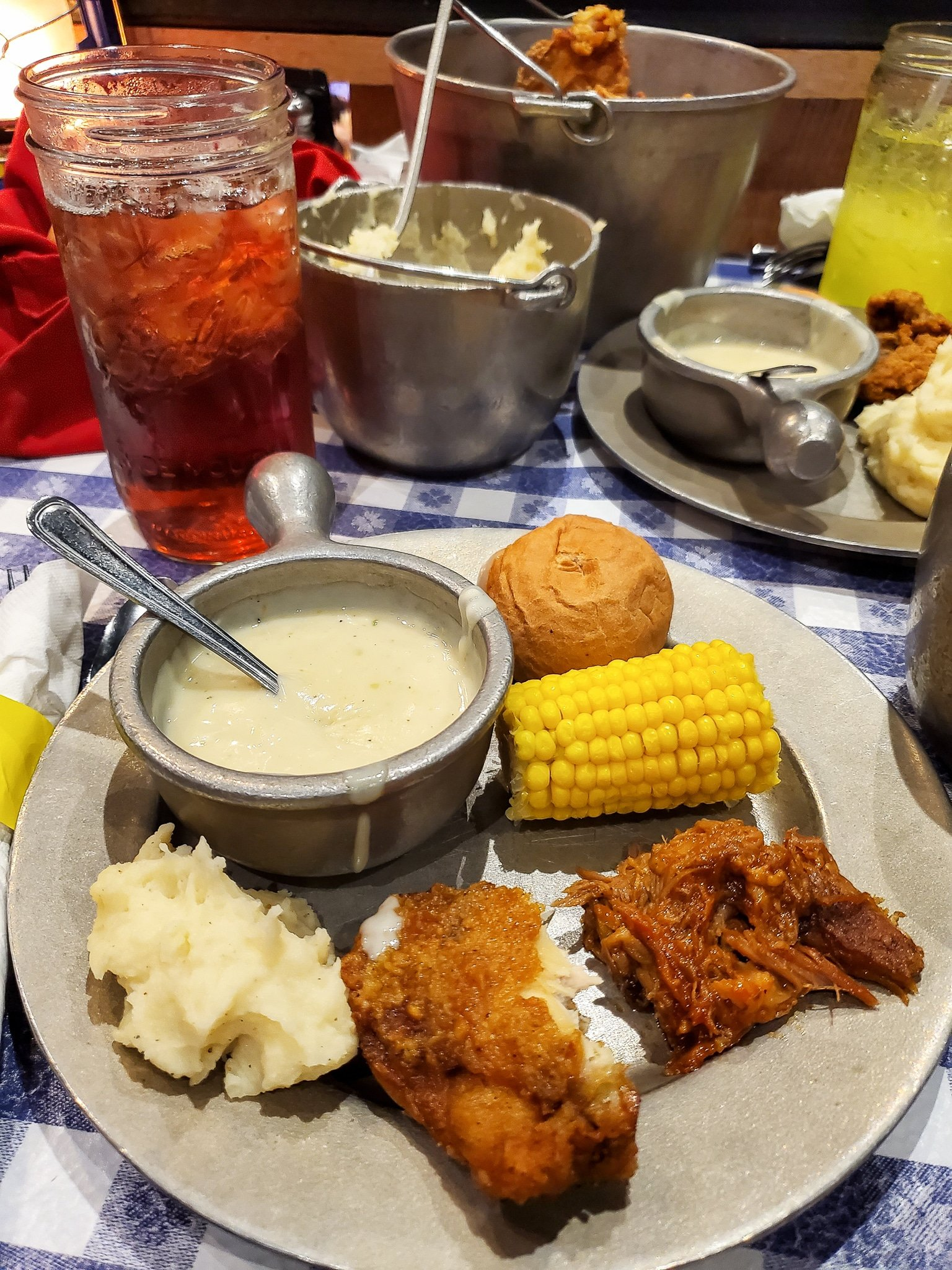 Hatfield and McCoy Family Feud Dinner Show. Nothing says entertainment like a good family feud in the Hatfield & McCoy Dinner Show. Laugh until your sides hurt in this hilarious show that offers an all you can eat southern style cooking dinner.