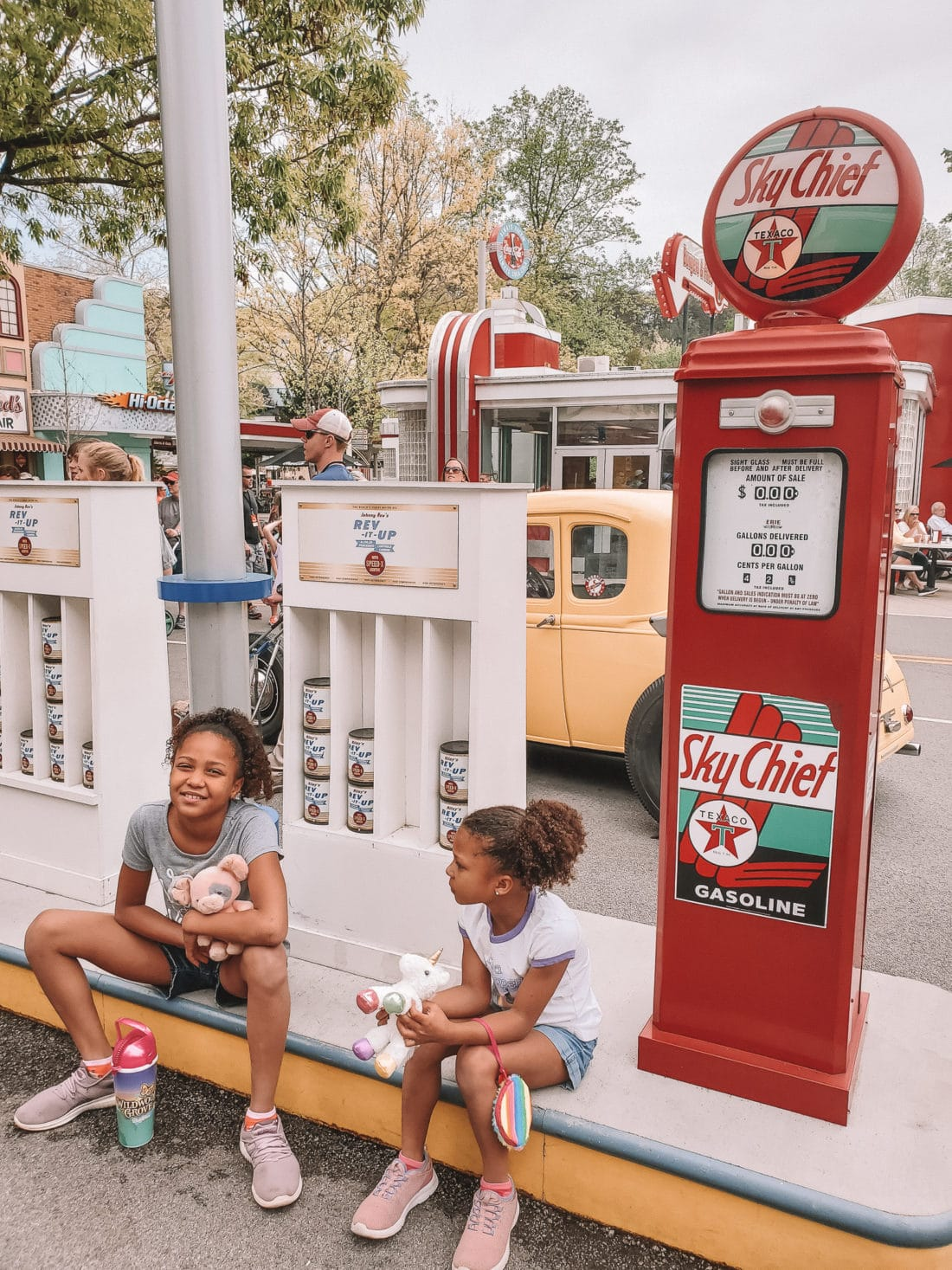 Dollywood Girls. My family spent the day playing and eating at the Dollywood theme park, and we are happy to report we had a blast! Read all about our trip and learn why Dollwood is a must visit destination while you are in Pigeon Forge, TN.