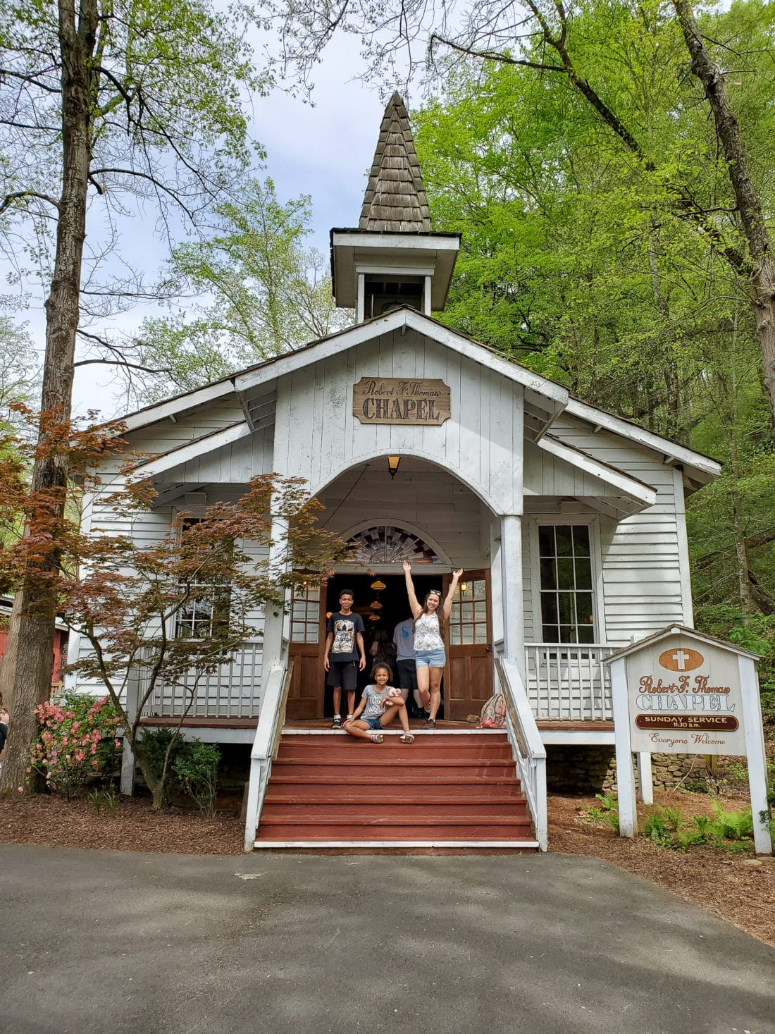 Dollywood Church. My family spent the day playing and eating at the Dollywood theme park, and we are happy to report we had a blast! Read all about our trip and learn why Dollwood is a must visit destination while you are in Pigeon Forge, TN.