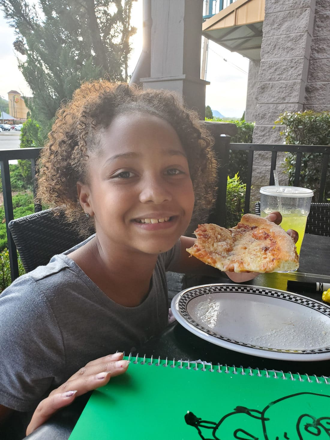 Big Daddy's Pizzeria Keturah. This is not your average pizza pie!At the heart of Big Daddy's is a 550 degree, wood-fired flame inside of a one-of-a-kind brick oven. Read all about why this freshly made pizza is my families go to pizza joint in Pigeon Forge, TN.