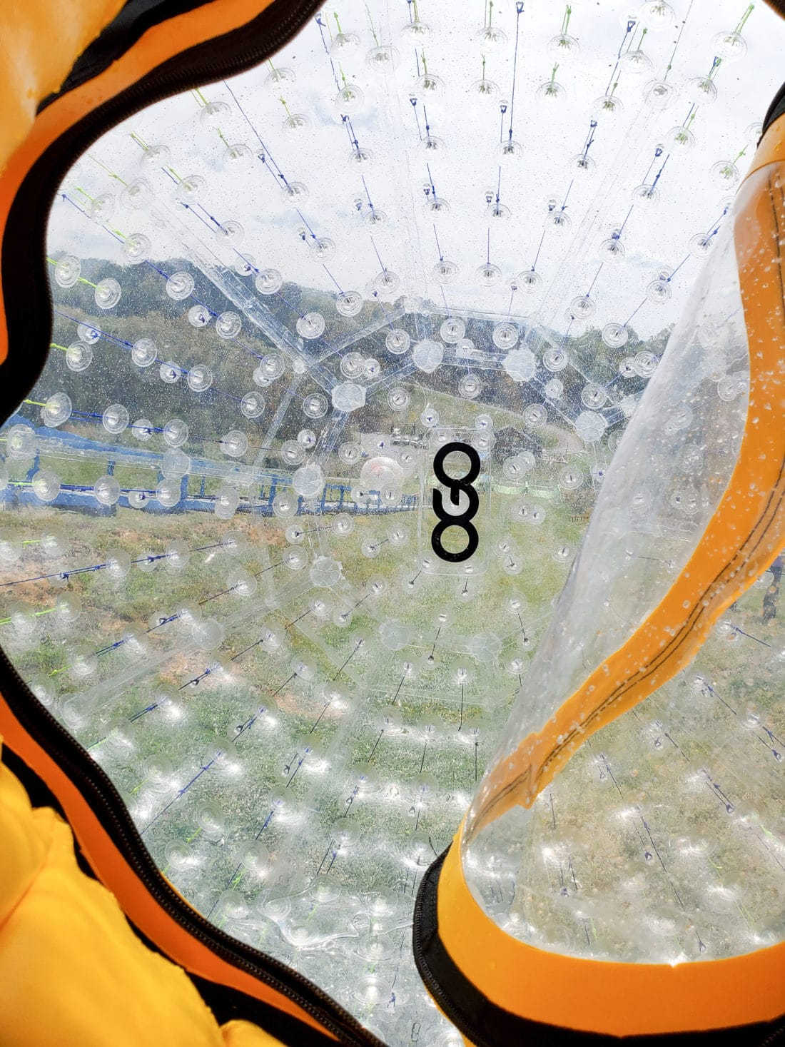 Outdoor Gravity Park Ogo Inside. Outdoor Gravity Park is an amazing adventure destination in Pigeon Forge, Tennessee at the foothills of the Smoky Mountains featuring zorbing, an attraction straight out of New Zealand.