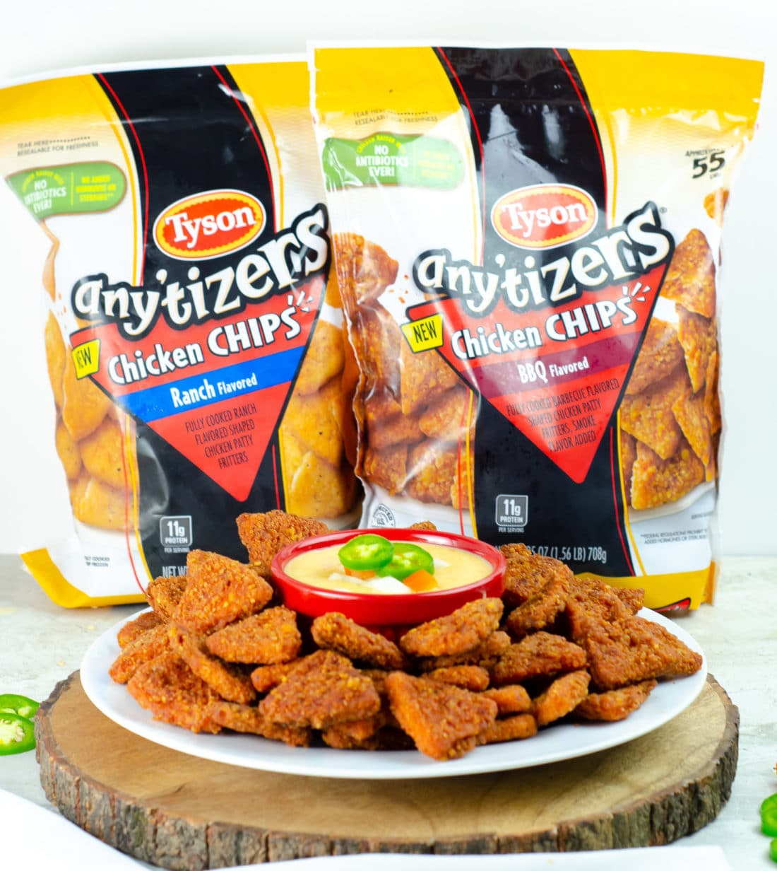 Tysons Antizers Chicken Chips Queso Dip. Try this Quick and Easy Queso Dip. It's perfect for back to school snacks or anytime of the year.