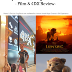Disney's The Lion King film is now available for a limited time in Regal Cinema's 4DX Experience. Experience Disney's remake of The Lion King with a realistic ride through a classic film. Today I will be sharing my full Film review and well as my honest 4DX Experience.