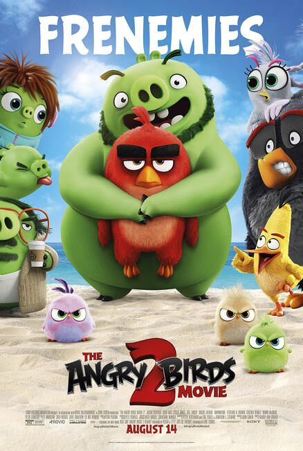 Angry Birds Movie 2 Poster. The flightless angry birds and the scheming green piggies take their beef to the next level in The Angry Birds Movie 2!