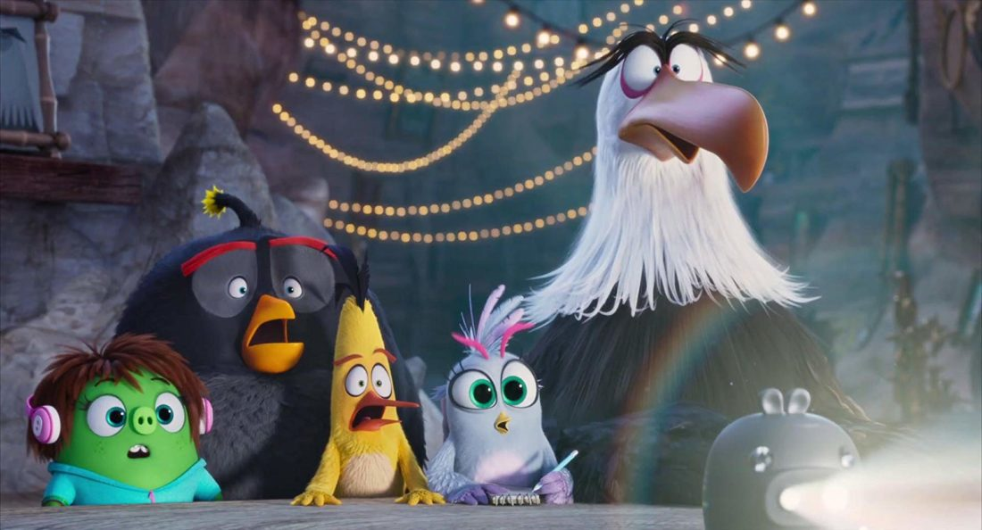 Angry Birds Movie 2 Group Meeting. The flightless angry birds and the scheming green piggies take their beef to the next level in The Angry Birds Movie 2!