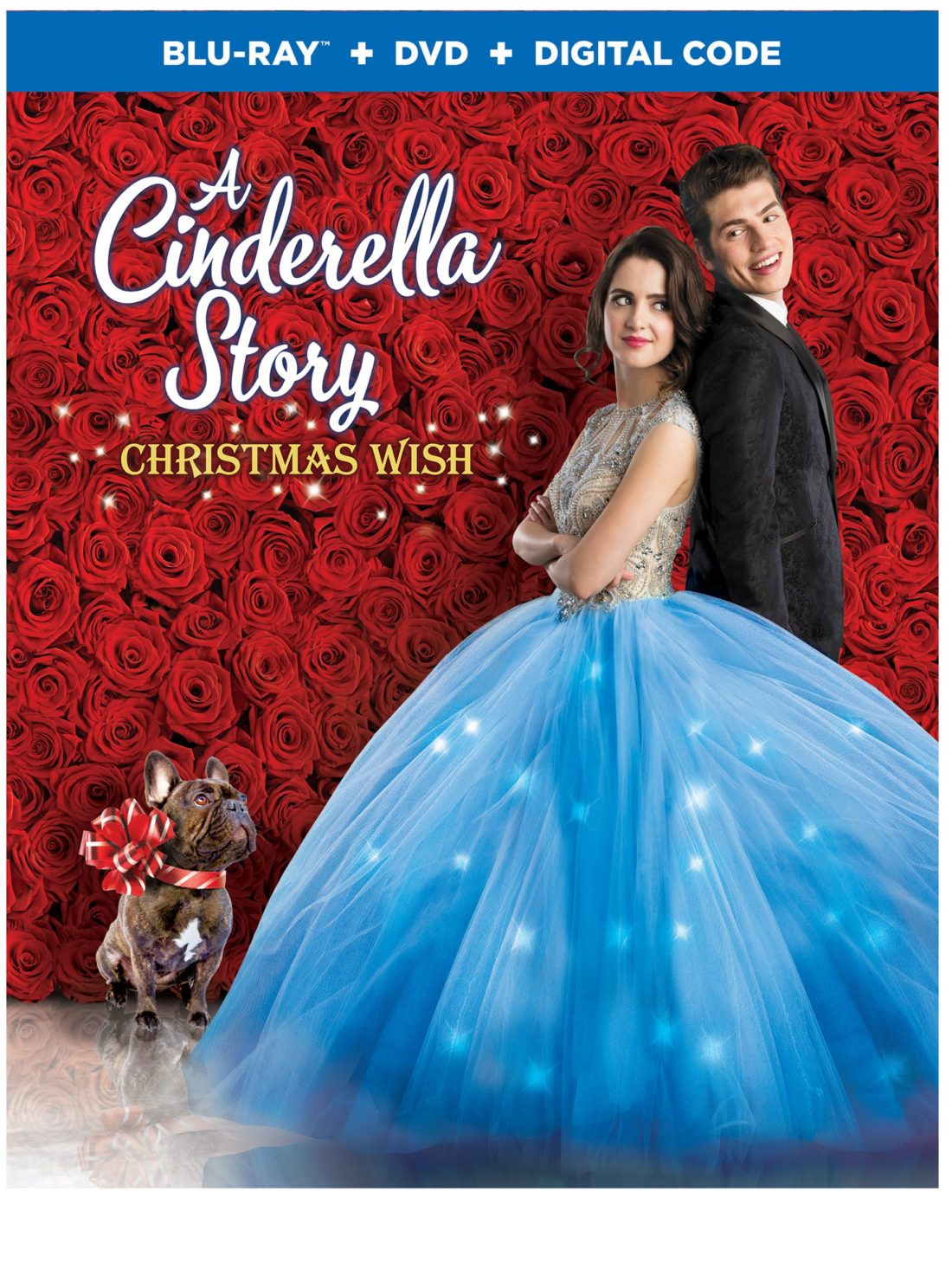 A Cinderella Story - Christmas Wish Box Art. A Cinderella Story: Christmas Wish is available on Digital beginning October 15, and on Blu-ray™ Combo Pack and DVD on October 29