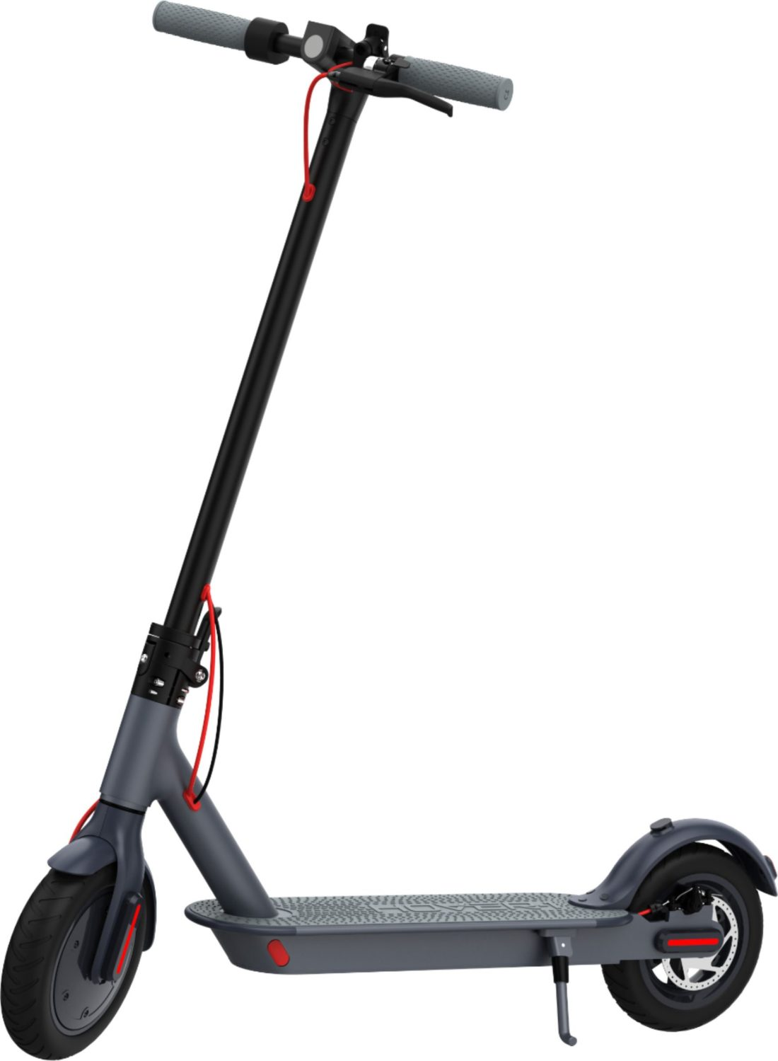 Hover-1 Electric Folding Scooter Sideview. Ride in style back to school with the Hover-1 Electric Folding Scooter