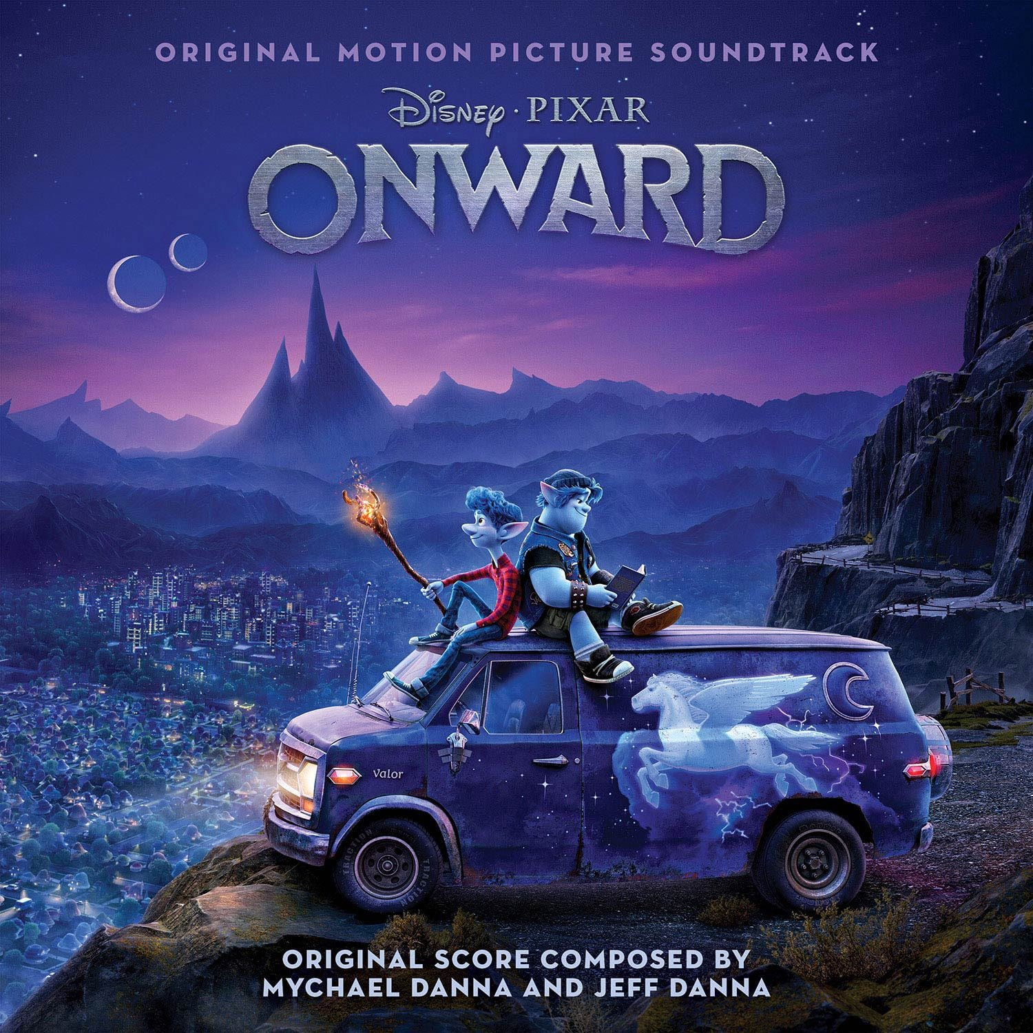 """Disney's Onward Soundtrack Cover Art. Five-time GRAMMY® Award-winning singer/songwriter Brandi Carlile has been tapped to perform an emotionally poignant song, """"Carried Me With You,"""" for the end credits of the upcoming Disney and Pixar film """"Onward."""""""