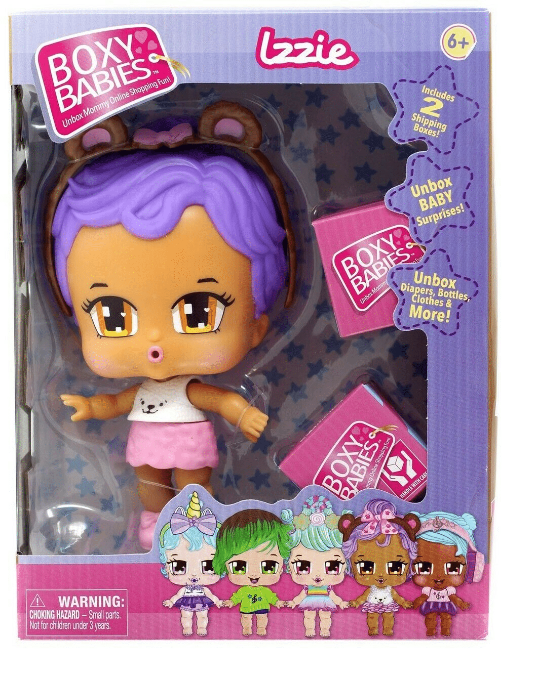 Boxy Babies - Izzie. Baby Izzie loves to snuggle and cuddle just like a little bear! Mommy shops online for lots of furry cuddle accessories for Baby Izzie - from a bear bottle to Bear tutus! Jays Sweet N Sour Life 2019 Holiday Gift Guide for Kids.