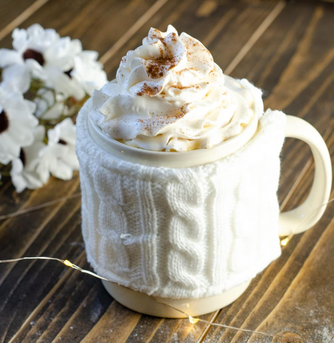 Almond Milk Butter Beer Latte. Mix up something delicious for your family this coming up holiday. Indulge in a warm cup of my Almond Milk Butterbeer Latte with a side of Sticky Toffee Pudding.