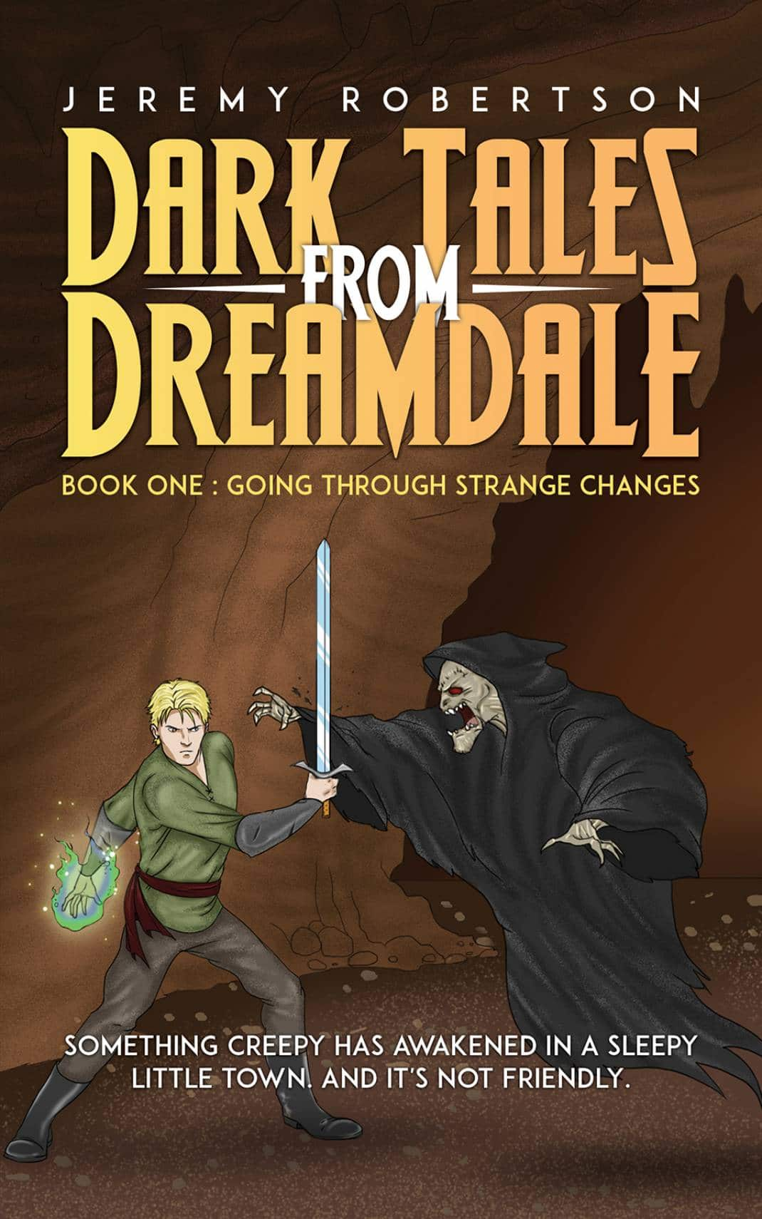 Dark Tales from Dreamdale. When a scary nightmare creature escapes its underworld prison, a brave boy, Arden Wonder, must slay the quirky dream monster Count Comatose before the villain has an opportunity to feed on the dreams and nightmares of young souls that will allow Count Comatose to unleash a nightmarish apocalypse that will corrupt reality.