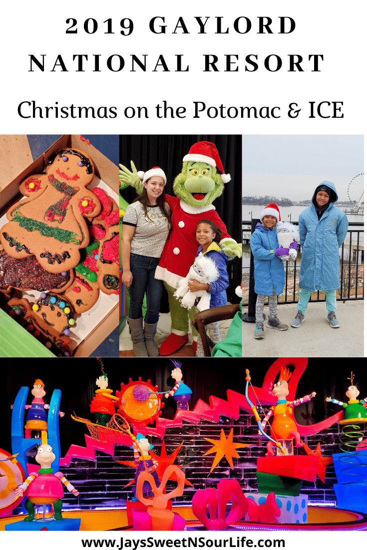 2019 Gaylord National Resort Christmas On The Potomac and ICE. Celebrate the holiday season with your whole family at this years 2019 Gaylord National Resort Christmas on the Potomac and ICE. Read our full review.