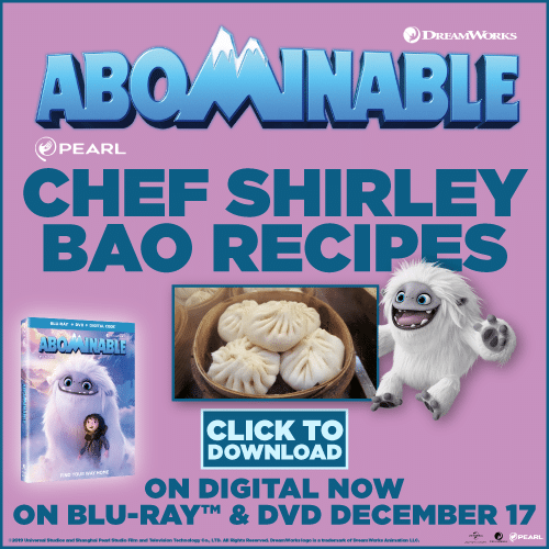 Abominable recipe. Looking to cook something fun and unique this holiday season? Check out these amazing ABOMINABLE Bao recipes from @chfshirleychung herself!