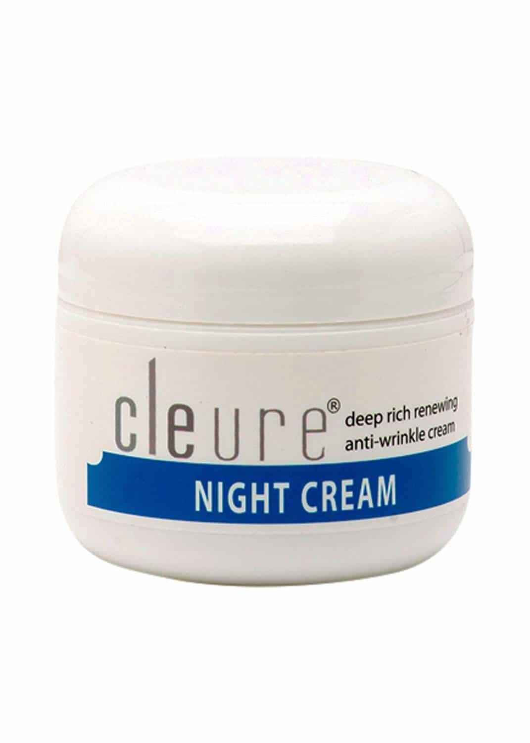 Cleure Hypoallergenic Anti-Aging Night Cream for Sensitive Skin is Paraben Free, Salicylate Free, Fragrance Free and Gluten Free and only has gentle ingredients. It is formulated with Alpha Lipoic Acid, Antioxidants and Shea Butter to help protect, soothe and repair your skin to look younger and beautiful.