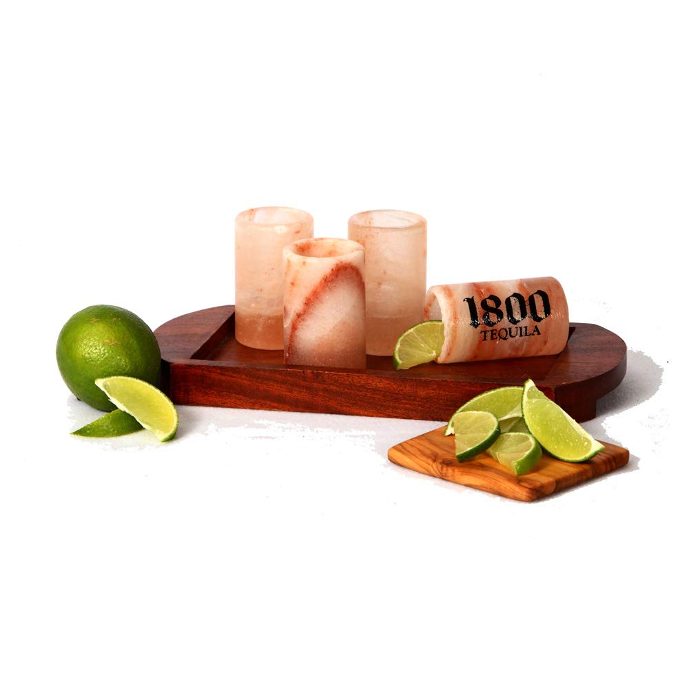 Pink Himalayan Shot Glasses-4 Pack The Spice Lab. The perfect Tequila shooter! Bring these along to your next get together and watch the conversation start and the party begins.