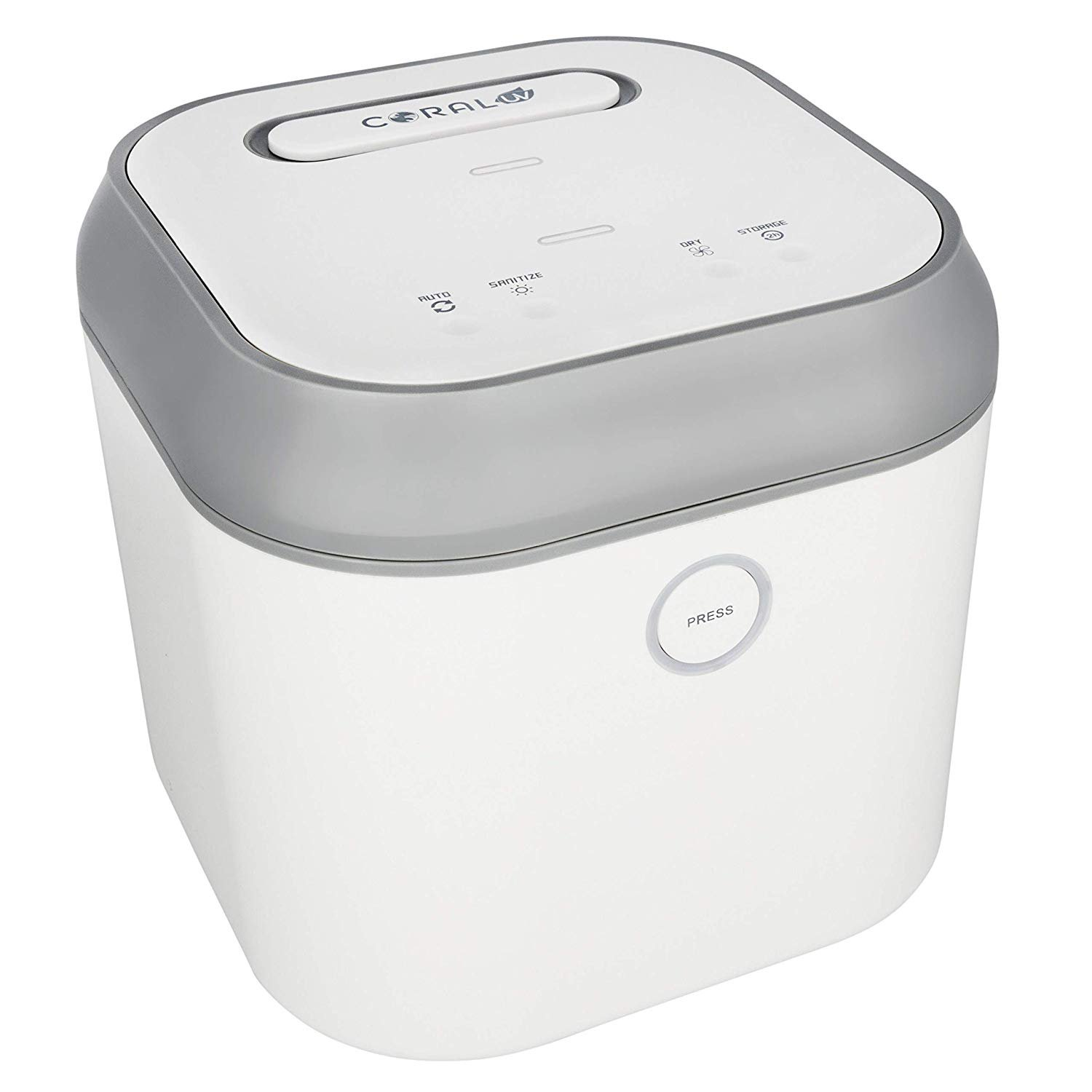 The Coral UV Sanitizer and Dryer. Coral UV provides an effective, safe, and chemical-free method of sanitization for you and your family.