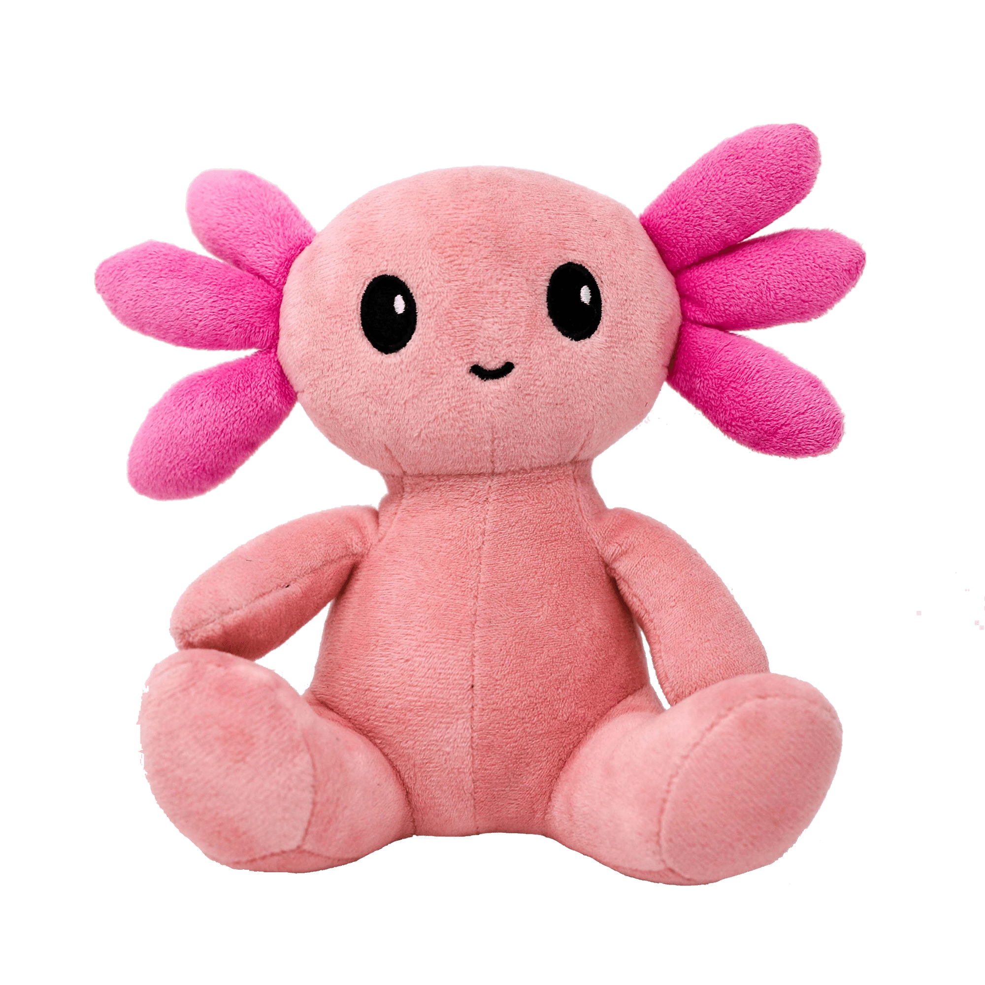 Axol the Axolotl is a sustainable ethical and socially conscious plush product designed in the image of the rare Mexican salamander, the Axolotl. This plush is made of organic cotton and measures 19 cm tall.