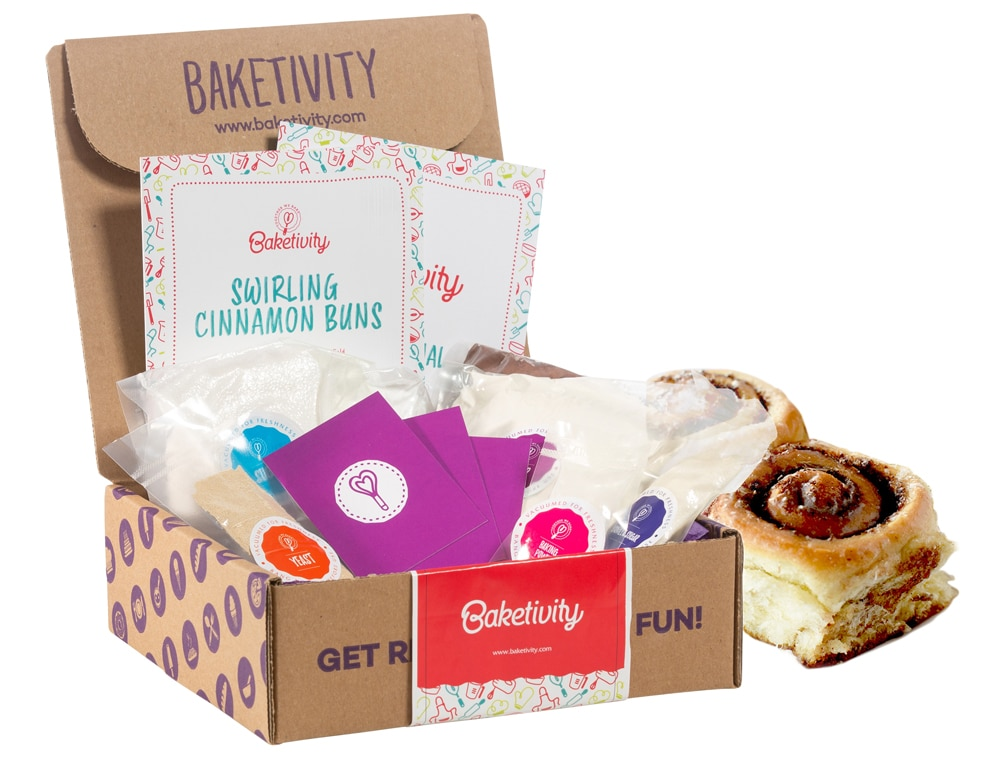 Baketivity is a monthly baking subscription box for kids; it includes all pre-measured ingredients, clear step by step illustrated instructions, and various educational lessons. 2020 Valentine's Day Gift Guide from Jays Sweet N Sour Life Blog.