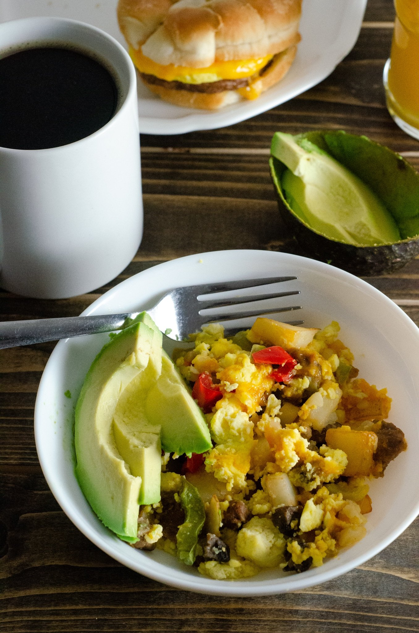 Rise and Shine Stress Free Breakfast. Start your mornings off right with my 5 Stress-Free Breakfast Ideas featuring some of our favorite ways to start our day.