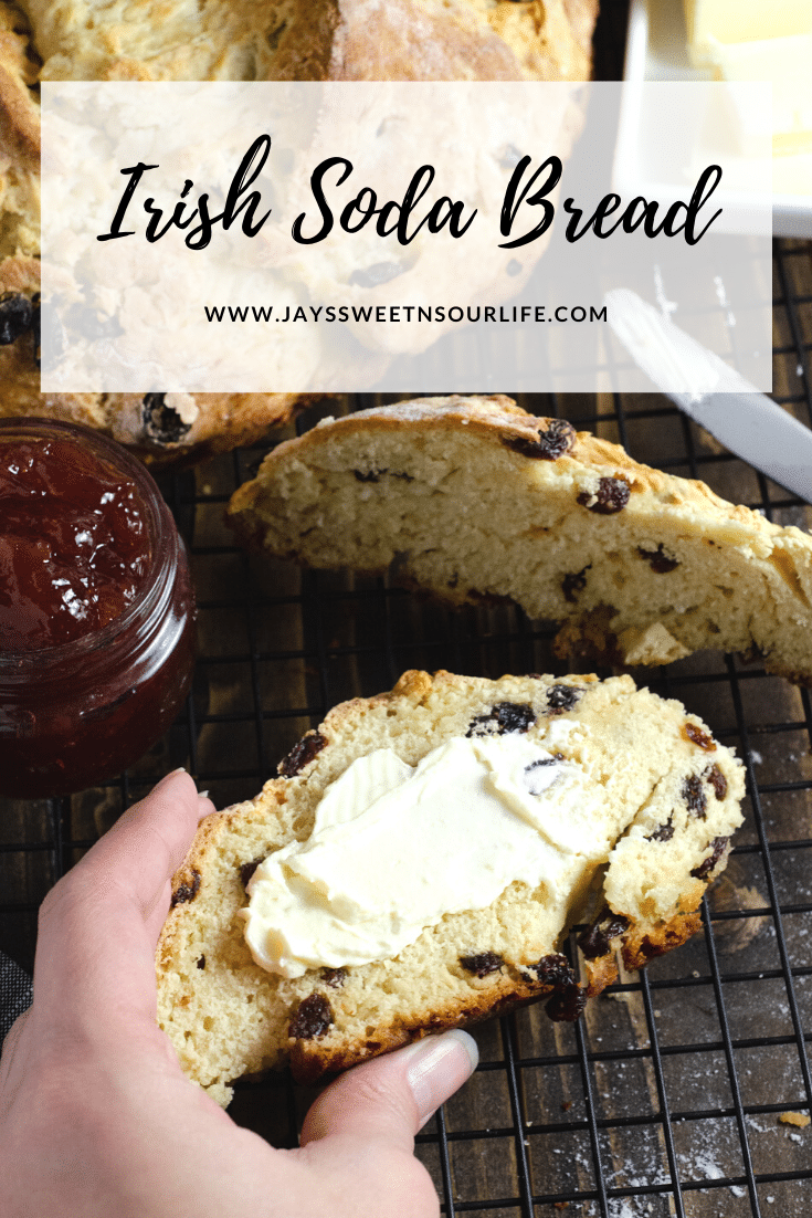 Irish Soda Bread Butter. This Irish Soda Bread is a quick and easy bread recipe you can whip together and spoil your family with. Also known as quick bread, It's a no yeast bread recipe that will take over your home with the sweet smell of fresh-baked bread.