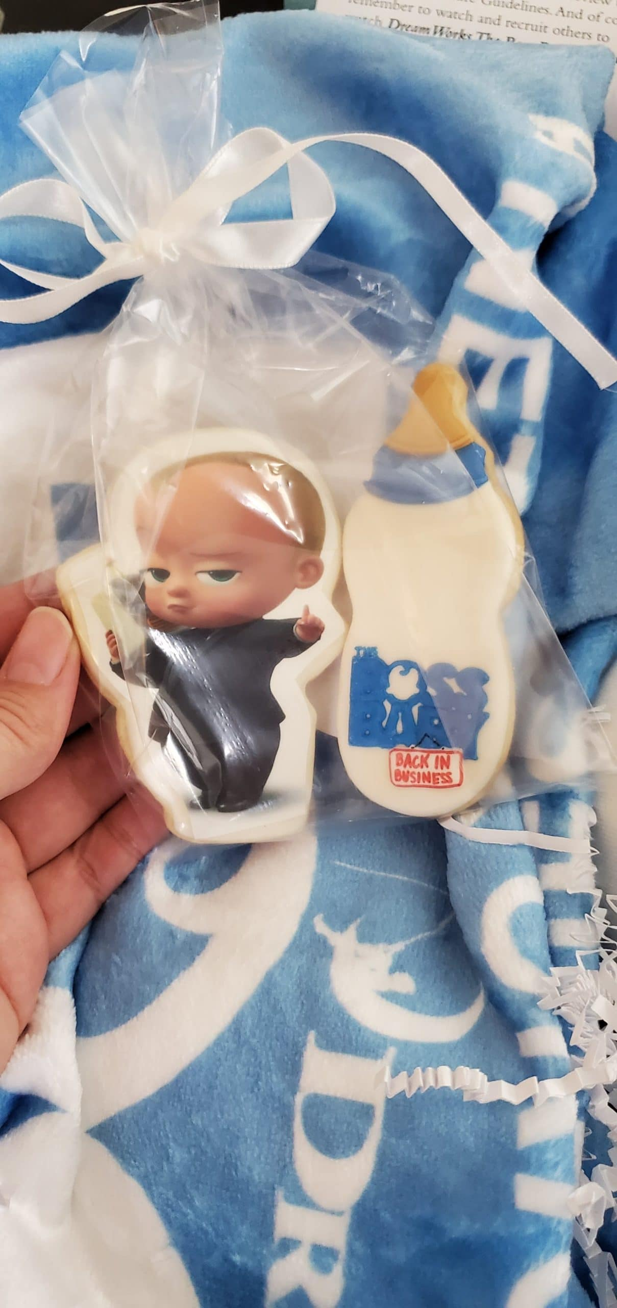 The Boss Baby Back in Business Cookies. The boss is back, baby! After a long sabbatical everyone's favorite modern career baby makes a comeback in the newly launched Season 3 trailer for DreamWorks The Boss Baby Back in Business.