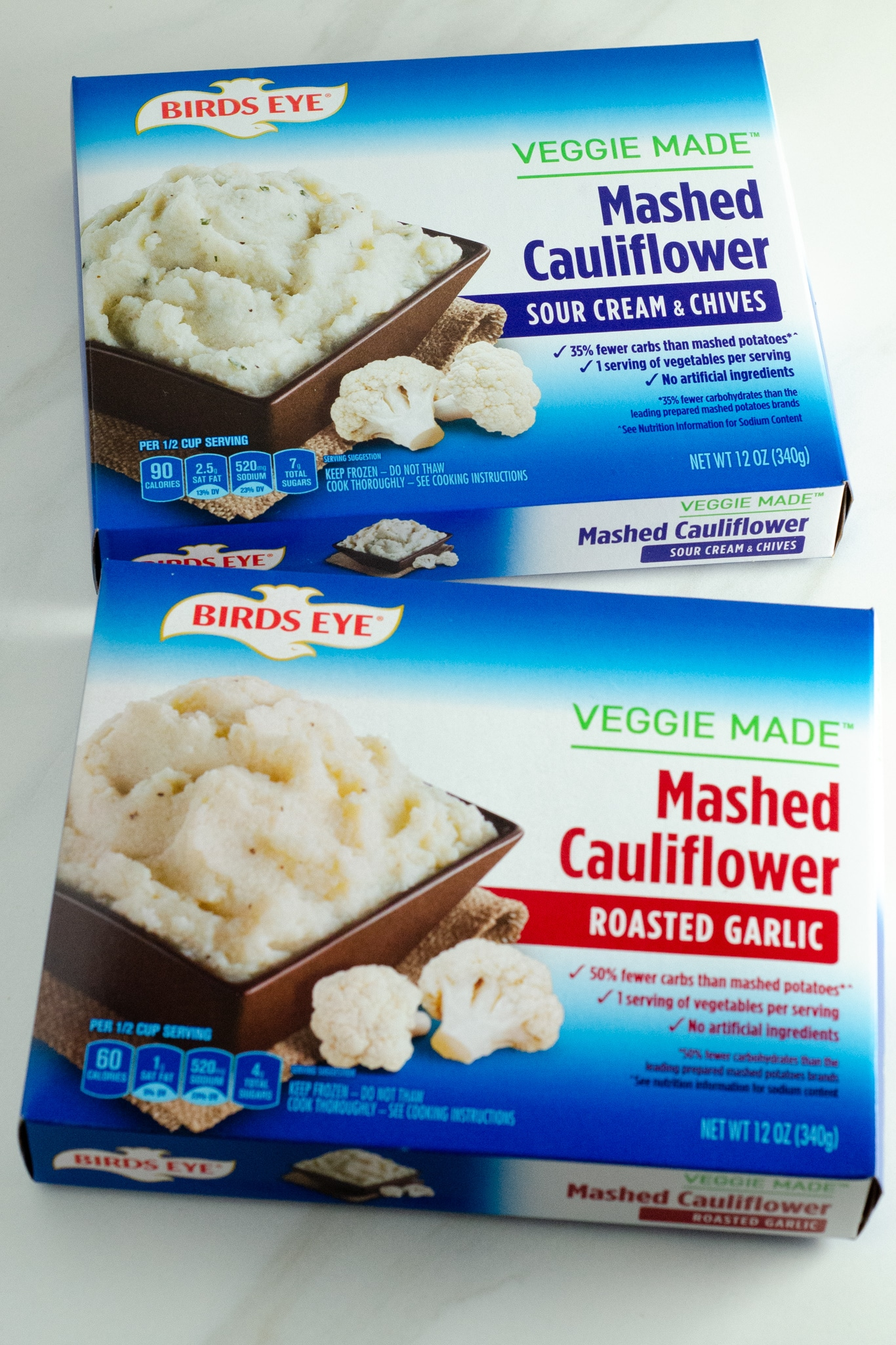 Birds Eye Mashed Cauliflower. March is National Frozen Food Month and what better way to celebrate it by shopping for your favorite frozen food brands at your local Harris Teeter. Grab this and other wonderful frozen food products in the freezer asile.