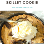 Sea Salt Chocolate Chunk Skillet Cookie. This brown butter Sea Salt Chocolate Chunk Skillet Cookie is packed with chunks of chocolate and topped with sea salt, it's the perfect dessert for two. The insanely soft center and crispy buttery edges will have you falling in love with this easy pizookie recipe. This ultimate Sea Salt Chocolate Chip Pizookie is baked in mini cast iron skillets and made with a lot of love and chocolate.
