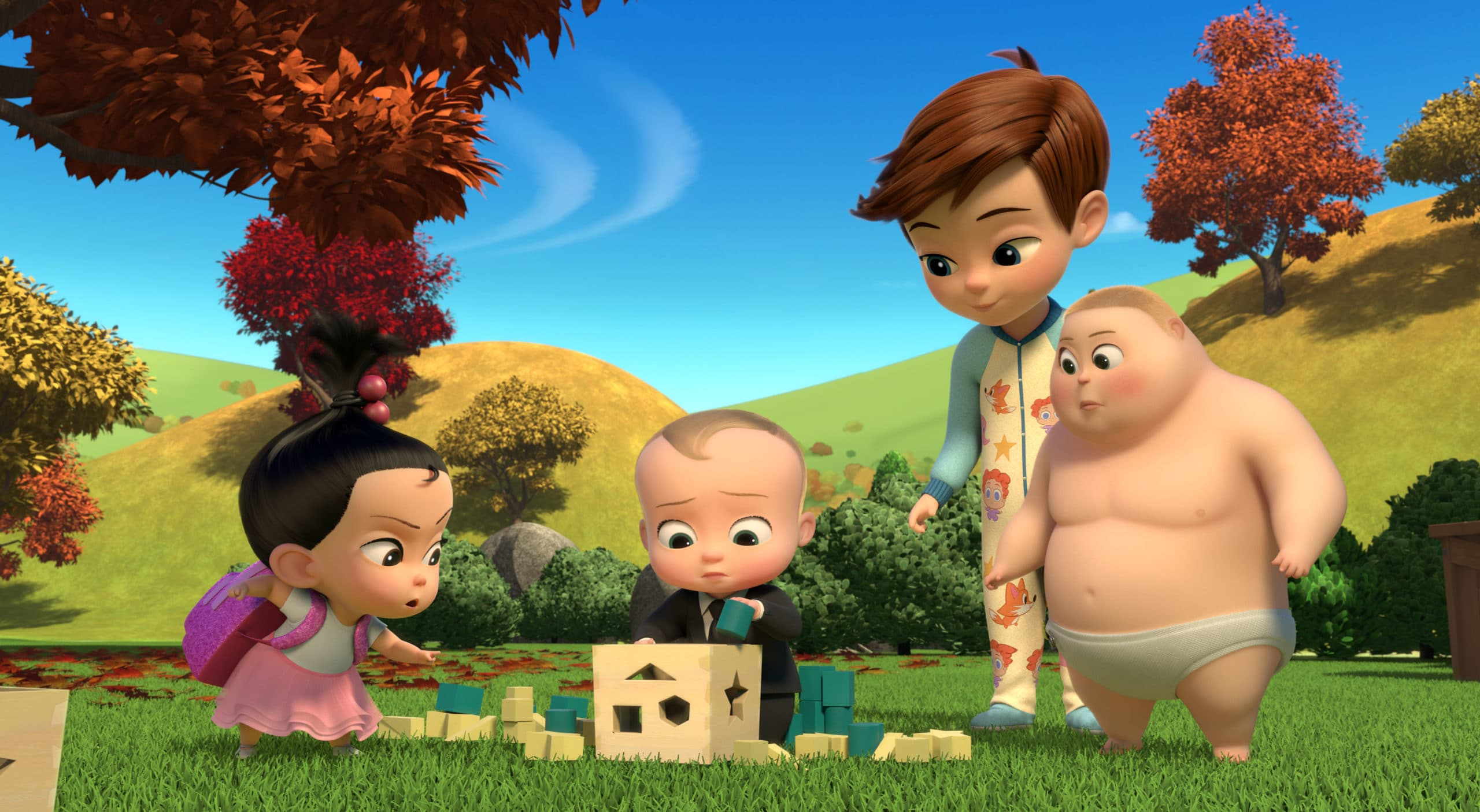 Staci, Boss Baby, Tim and Jimbo. Boss Baby Season 3 Back In Business - Netflix Premiere March 16. The boss is back, baby! After a long sabbatical everyone's favorite modern career baby makes a comeback in the newly launched Season 3 trailer for ?DreamWorks The Boss Baby Back in Business?.