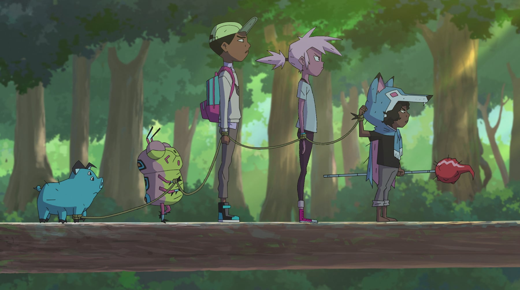 Kipo THE PACK. DreamWorks Kipo and The Age of Wonderbeasts will return to Netflix June 12, for a second season filled with adventures through the whimsical, weird post-apocalyptic world of Las Vistas.