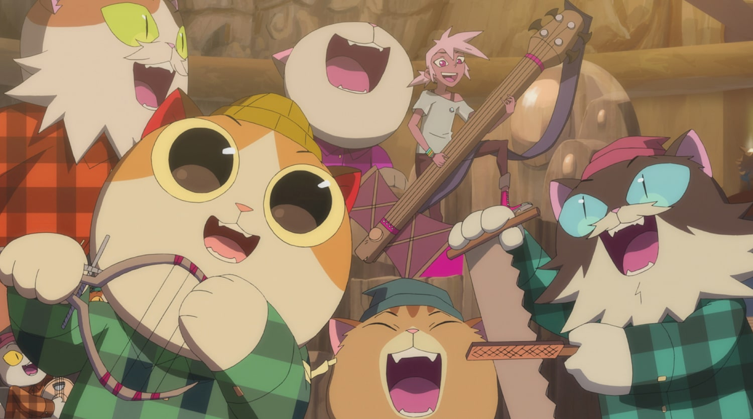 Kipo TIMBERCATS SING. DreamWorks Kipo and The Age of Wonderbeasts will return to Netflix June 12, for a second season filled with adventures through the whimsical, weird post-apocalyptic world of Las Vistas.