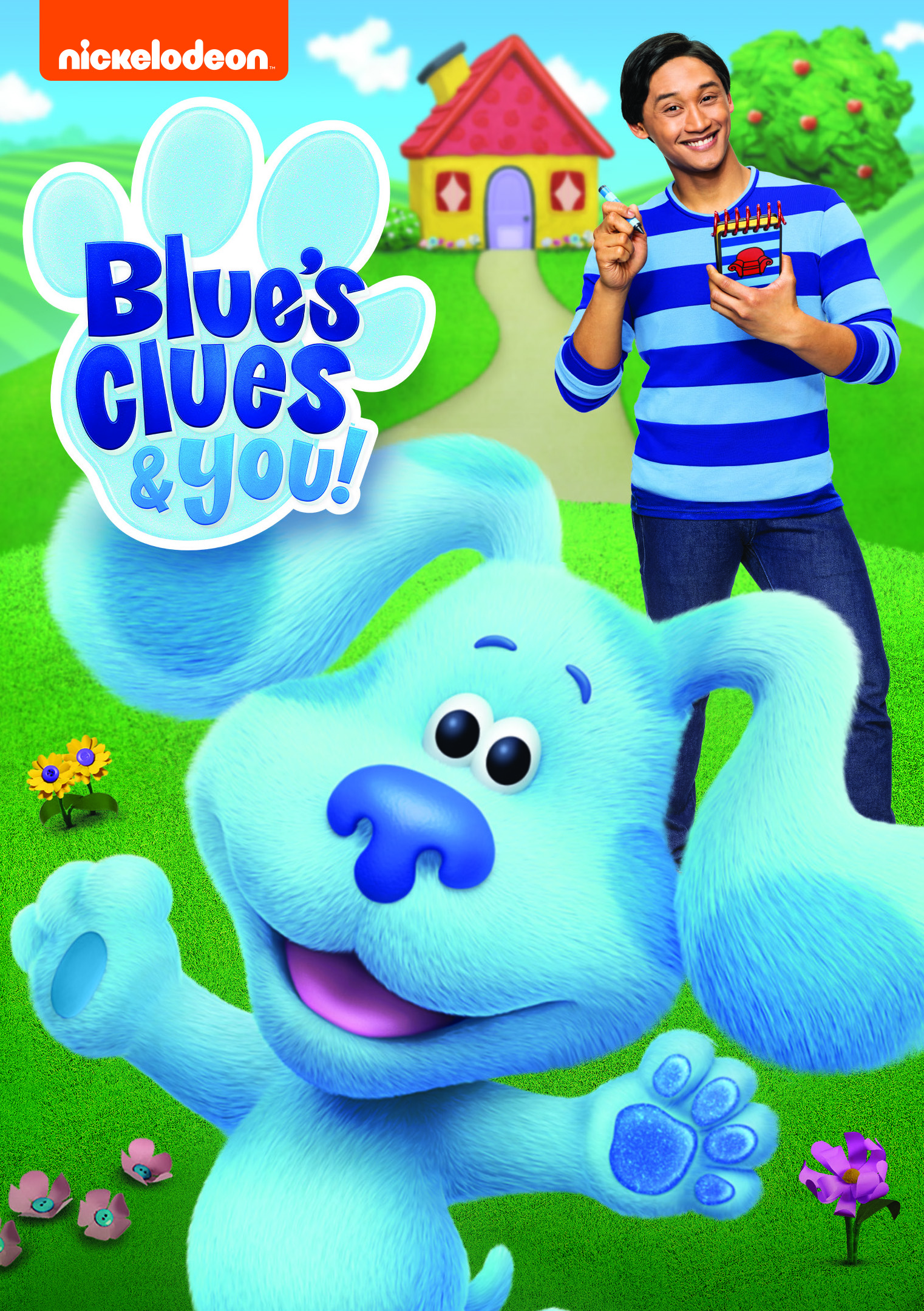 Nickelodeon's hit interactive preschool series Blue's Clues & You! will skidoo onto DVD for the first time on June 2, featuring four exciting episodes from the show's debut season. Available exclusively at Walmart June 2, 2020.