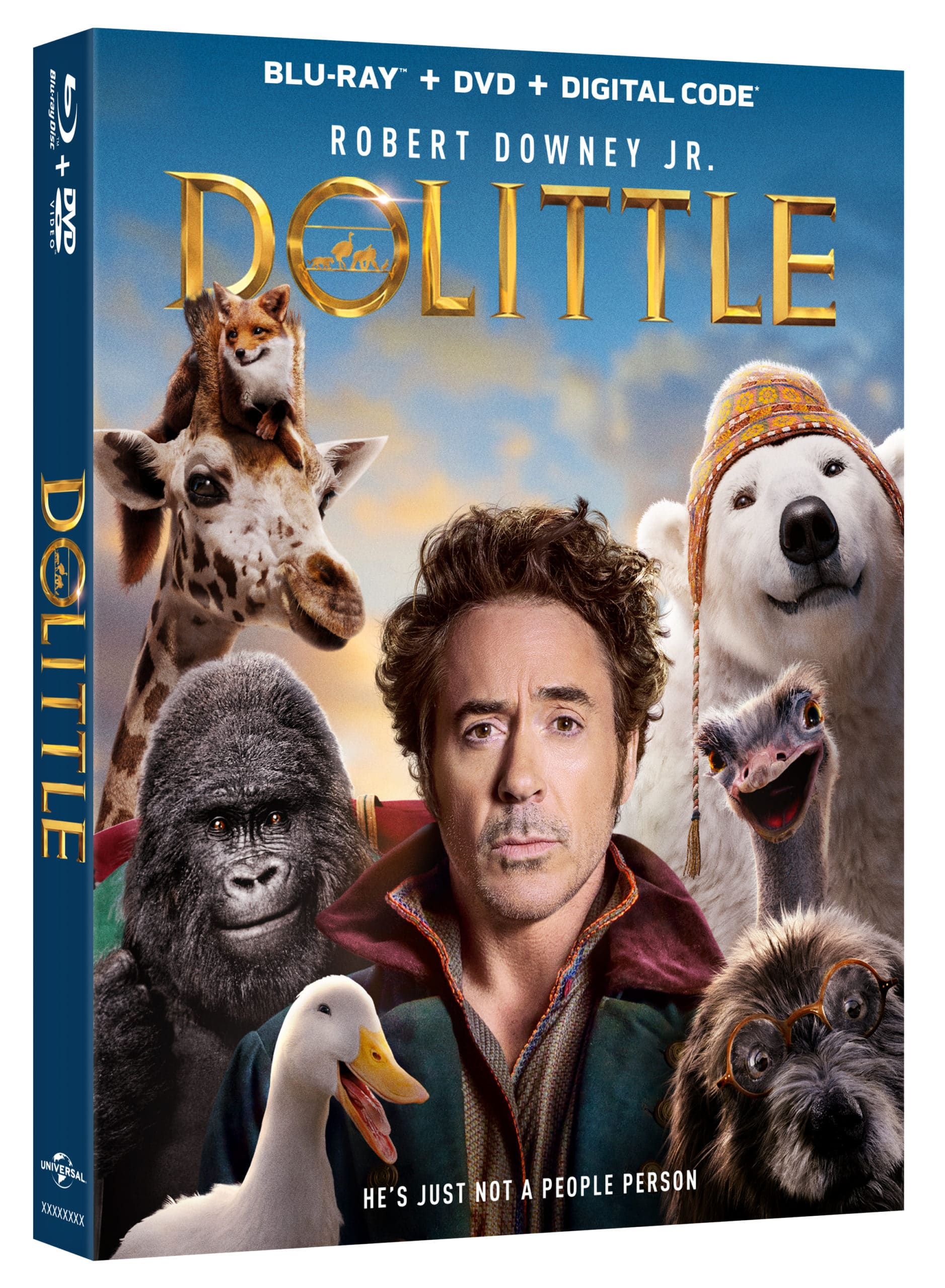 Own the movie all the animals are talking about and go an epic journey with a hilarious always cold bear, an anxious gorilla, a lovable giraffe, a ferocious tiger, and more! Dolittle availableon 4K Ultra HD™, Blu-ray™, DVD and On Demand TODAY!