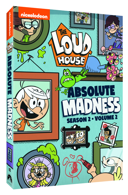 Lincoln and his sisters are back in The Loud House: Absolute Madness – Season 2, Volume 2 DVD, where lessons are learned, friends are made, and everyone is making moves.