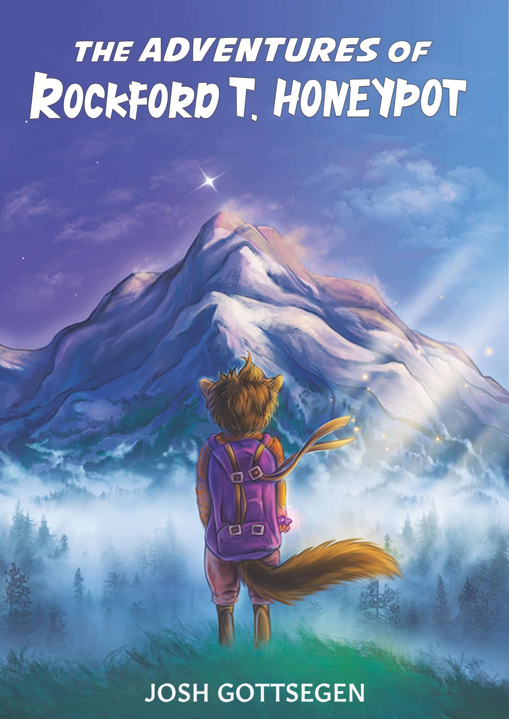 The Adventures of Rockford T. Honeypot. As a young chipmunk, shy, bookish Rockford T. Honeypot had dreams of thrilling adventures across the forest. However, timid of danger and germs, his only adventures were found in books and his imagination.
