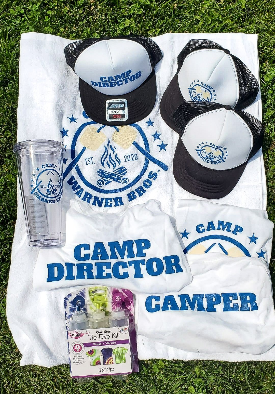 Camp Warner Bros. Acceptance Package. Join us as we adventure through 8 weeks of Virtual Camp Warner Bros. Each week will feature a new fun family friendly activity and a Warner Bros. Show or Movie.
