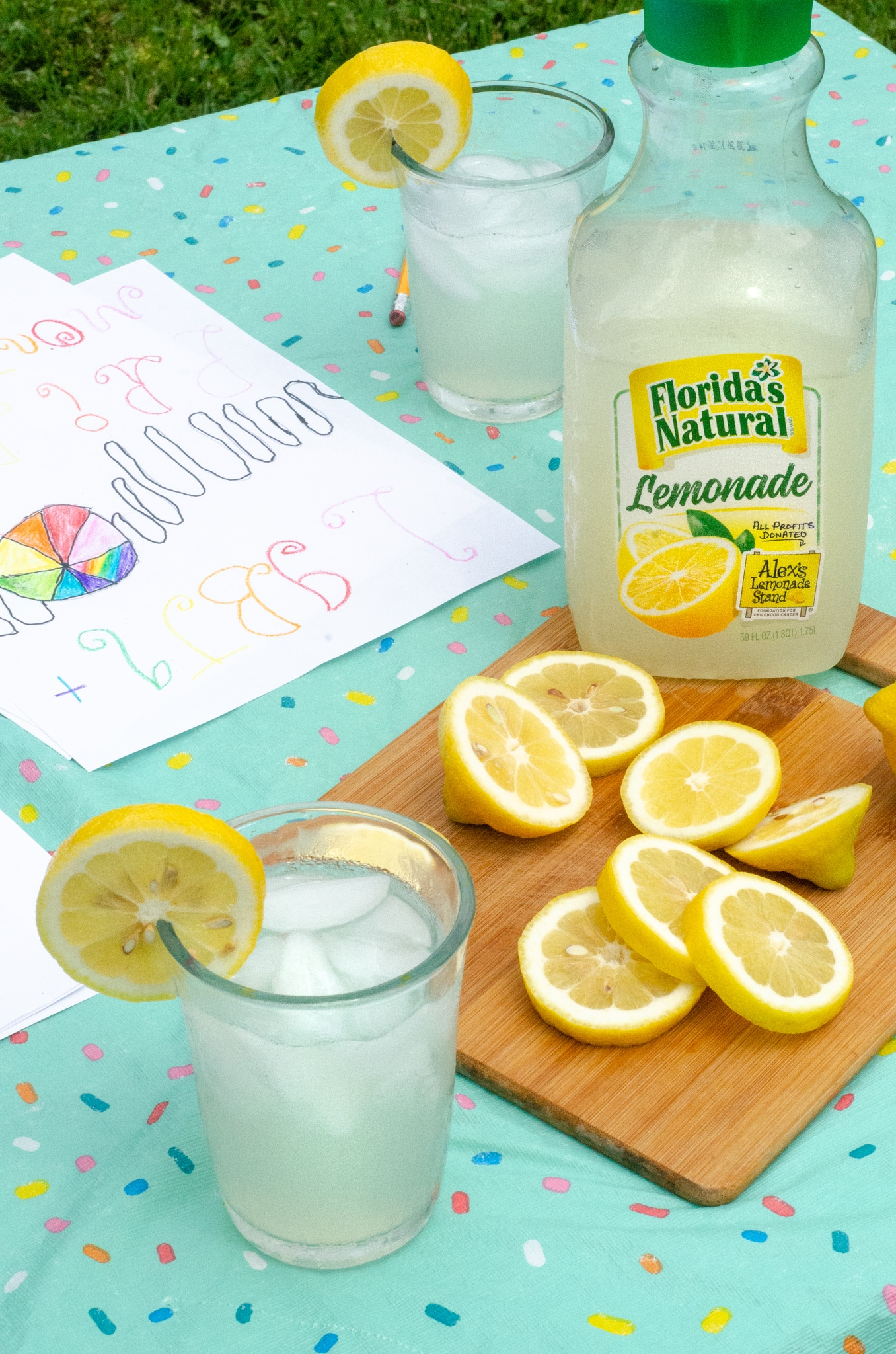 Lemonade Inspired Art Keturah Artwork. Looking for a fun way to keep the kids entertained this summer? Celebrate the start of summer with Lemonade-Inspired Art In the Backyard.