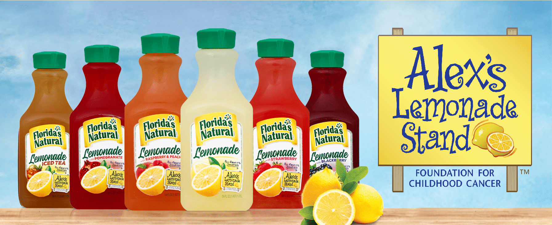 Florida's Natural Alex's Lemonade Stand Flavors. Looking for a fun way to keep the kids entertained this summer? Celebrate the start of summer with Lemonade-Inspired Art In the Backyard.
