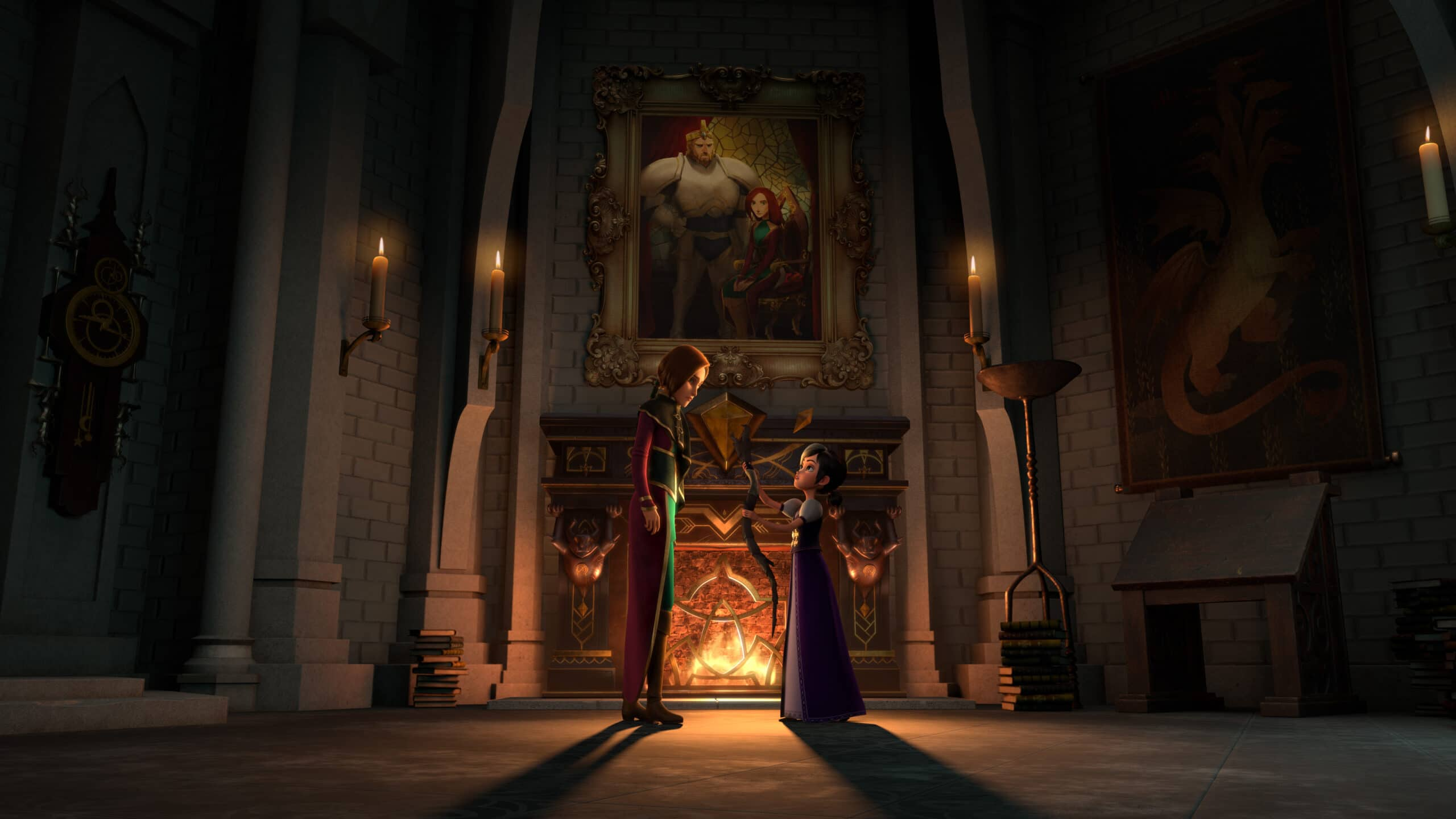 DreamWorks Wizards: Tales of Arcadia Morgana and Claire. Join our favorite supernatural heroes on a time-bending adventure to medieval Camelot. The magic continues the final chapter of the Tales of Arcadia saga, Wizards! Coming to Netflix August 7, 2020.